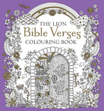 The Lion Bible Verses Colouring Book cover photo