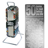 50 Books' Metal Bookmark cover photo