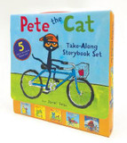 Pete the Cat Take-Along Storybook Set: 5-Book 8x8 Set cover photo