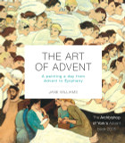 The Art of Advent: A Painting a Day from Advent to Epiphany cover photo