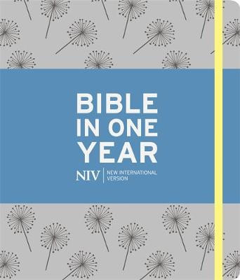 NIV Journalling Bible in One Year: Grey cover photo