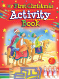 My First Christmas Activity Book cover photo