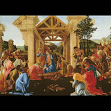 The Adoration Christmas cards (pack of 5) cover photo