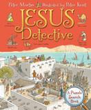 Jesus Detective: A Puzzle Search Book cover photo
