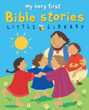 My Very First Bible Stories Little Library cover photo