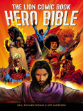 The Lion Comic Book Hero Bible cover photo
