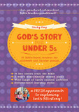 God's Story for Under 5s: 36 Bible-Based Sessions for Midweek and Sunday Groups cover photo