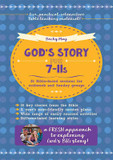 God's Story for 7-11s: 36 Bible-Based Sessions for Midweek and Sunday Groups cover photo