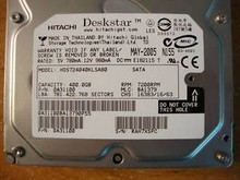HITACHI HDS724040KLSA80, 400GB SATA MLC: BA1379 0A31100 360299099658