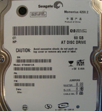 """10 pc. lot Seagate ST960812A 2.5"""" 60gb 4200rpm ATA HDD (DOD tested & Wiped)"""