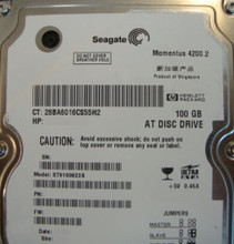 "10 pc. lot Seagate ST9100822A 2.5"" 100gb 4200rpm ATA HDD (DOD tested & Wiped)"
