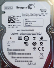 "10 pc. lot Seagate ST9640320AS 2.5"" 640gb 5400rpm Sata HDD (DOD tested & Wiped)"