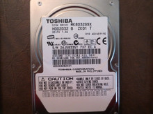 Toshiba MK8032GSX HDD2D32 B ZK01 T 010 A0/AS111G 80gb Sata