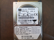 Toshiba MK4025GAS HDD2190 F ZK01 S 610 A0/KA101A 40gb IDE (Donor for Parts)