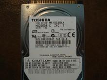 Toshiba MK1032GAX HDD2D08 C ZK01 T 710 A0/AB211A 100gb IDE/ATA