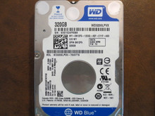 Western Digital WD3200LPVX-75V0TT0 DCM:DHOT2AB 320gb Sata (Donor for Parts)