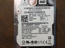 Western Digital WD5000BPKT-75PK4T0 DCM:HAOTJAN 500gb Sata (Donor for Parts)