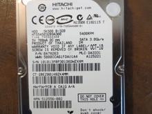 Hitachi HTS545032B9A300 PN:0A78263 MLC:DA3331 320gb Sata
