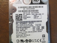 Western Digital WD7500BPKT-75PK4T0 DCM:HBOTJHB 750gb Sata (Donor for Parts)