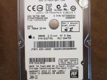 Hitachi HTS547550A9E384 PN:0J27701 MLC:DA4755 Apple#655-1683C 500gb Sata (Donor for Parts)