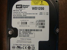 WD WD1200JB-00GVA0 DCM:DSBACTJAH 120gb IDE/ATA (Donor for Parts) WCAL95159506