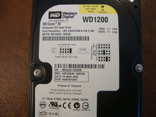 WD WD1200JB-00GVA0 DCM:HSBHNT2AH 120gb IDE/ATA (Donor for Parts)