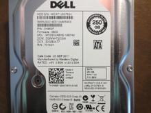 Dell WD2502ABYS-18B7A0 DCM:DGNNHT2CGN FW:3B05 250gb Sata