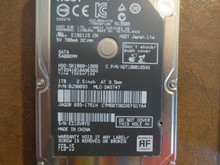 Hitachi HTS541010A9E662 PN:0J38093 MLC:DA5747 Apple#655-1751H 1000gb Sata