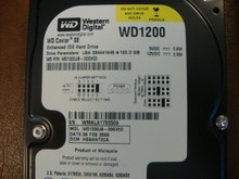 WD WD1200JB-00GVC0 DCM:HSBANT2CA 120gb IDE/ATA (Donor for Parts)