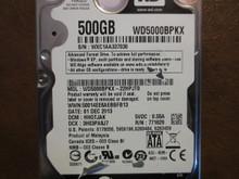 Western Digital WD5000BPKX-22HPJT0 DCM:HHOTJAK 500gb Sata