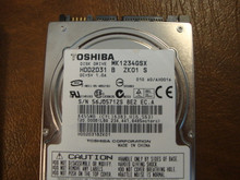 Toshiba MK1234GSX HDD2D31 B ZK01 S 010 A0/AH001A 120gb  Sata (Donor for Parts) 56JQ5712S
