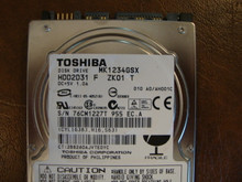 Toshiba MK1234GSX HDD2D31 F ZK01 T 010 A0/AH001C 120gb  Sata (Donor for Parts)