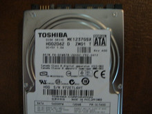 Toshiba MK1237GSX HDD2D62 D ZM01 T FW:DL1400  120gb  Sata (Donor for Parts)