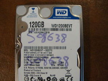 WD WD1200BEVT-00ZCT0 DCM:HACT2BB 120gb Sata (Donor for Parts)