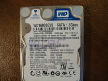 WD WD1600BEVS-08VAT2 DCM:DHNT2HBB 160gb Sata (Donor for Parts)