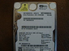 WD WD1600BEVS-26VAT0 DCM:FBCVJHNB 160gb Sata (Donor for Parts)
