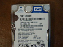 WD WD1600BEVT-60ZCT1 DCM:FANV2ABB 160gb Sata (Donor for Parts)