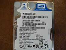 WD WD1600BEVT-60ZCT1 DCM:FBYT2ANB 160gb Sata (Donor for Parts)