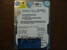 WD WD2500BEVS-22UST0 DCM:FBCVJHBB 250gb Sata (Donor for Parts)