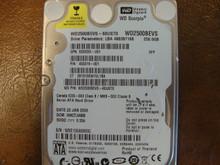 WD WD2500BEVS-60UST0 DCM:HHCTJHBB 250gb Sata (Donor for Parts)