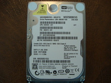 WD WD2500BEVS-60UST0 DCM:FBYT2BNB 250gb Sata (Donor for Parts)