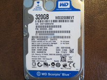 WD WD3200BEVT-24A23T0 DCM:HHMTJHNB 320gb Sata (Donor for Parts)