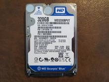 WD WD3200BPVT-16ZEST0 DCM:HHBVJAKB  320gb Sata (Donor for Parts)