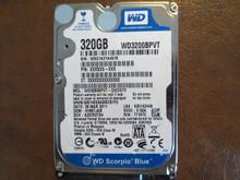 WD WD3200BPVT-24ZEST0 DCM:HHMTJAB 320gb Sata (Donor for Parts)