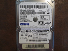 Samsung HM040GI REV.A FW:AA100-12 (M80S FS) 40gb Sata S0JUJ10LC35233 (T)