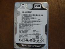 WESTERN DIGITAL WD1600BEKT-66F3T2 DCM:HHCVJBNB SATA 160GB