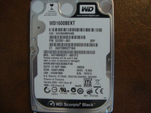 WESTERN DIGITAL WD1600BEKT-66F3T2 DCM:HANTJBBB SATA 160GB