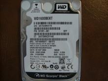 WESTERN DIGITAL WD1600BEKT-66F3T2 DCM:HHNTJHNB SATA 160GB