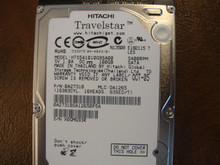 HITACHI HTS541010G9SA00 MLC:DA1265 PN:0A27310 100GB SATA
