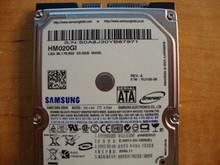SAMSUNG HM020GI, 20GB, SATA, REV A, F/W: YU100-06 (M40S FS) S0A8J30YB87971